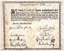 スウェーデンの銀行券