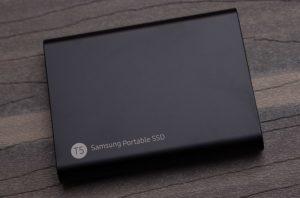USB接続SSD
