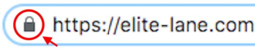 URL欄の鍵マークの有無