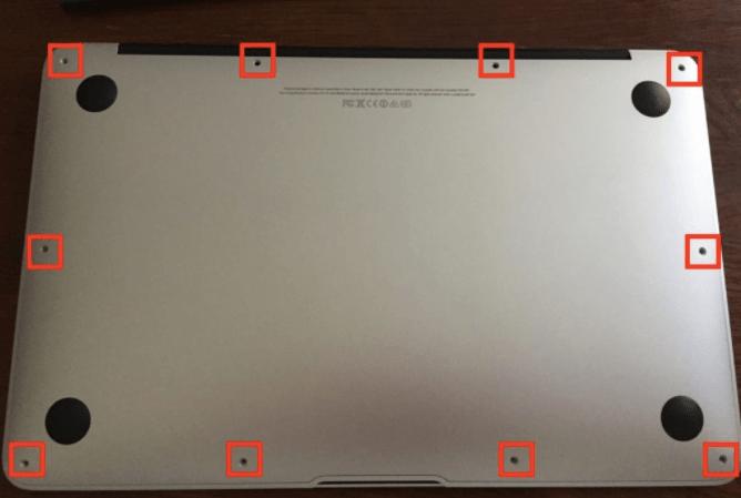 Mac Book Airのバッテリー交換