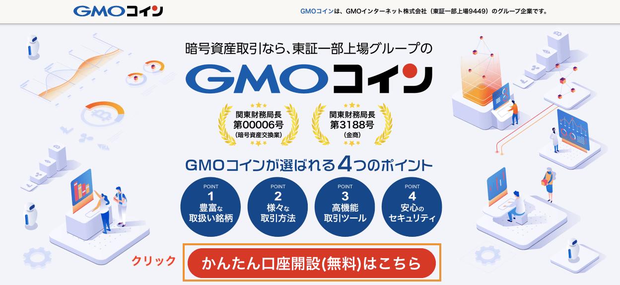 GMOコイン・会員登録手順
